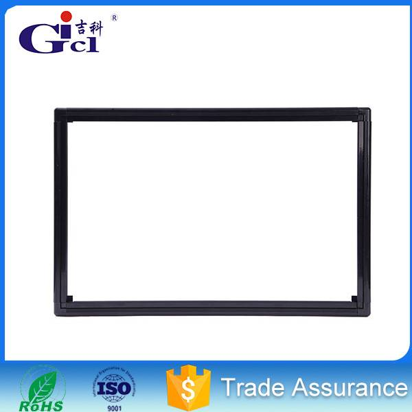 Gicl 5015 led ticker display aluminum profile frame for indoor smd p5 160*160 full color module led
