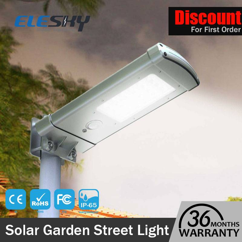 Outdoor Use Garden Solar Led Light With Motion Sensor