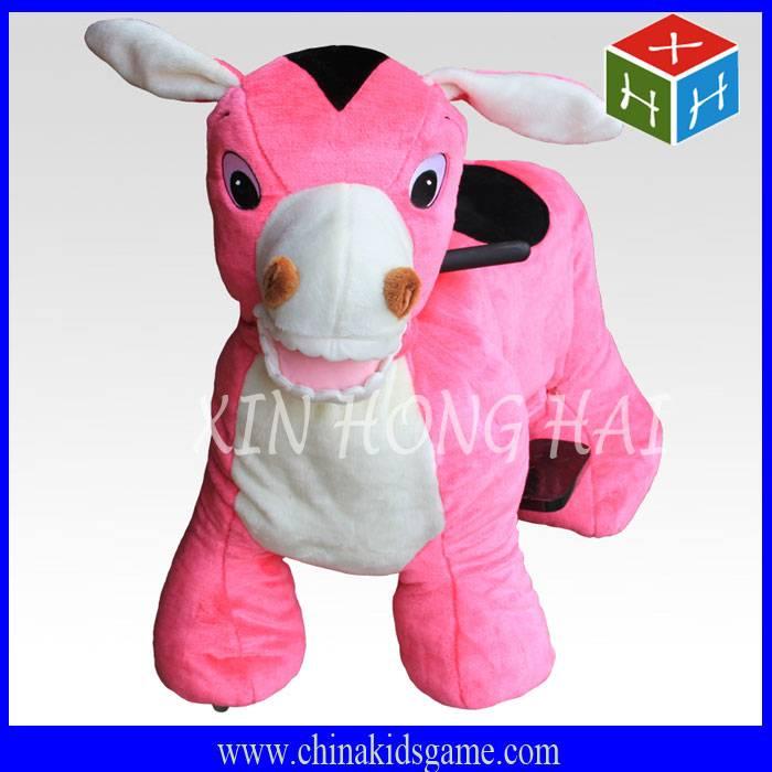 Hot sale electric animal ride, amusement donkey ride