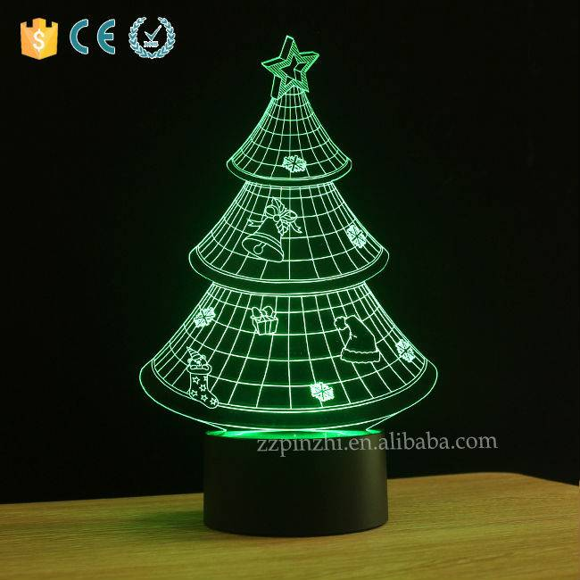 NL7 illusion led Christmas night light