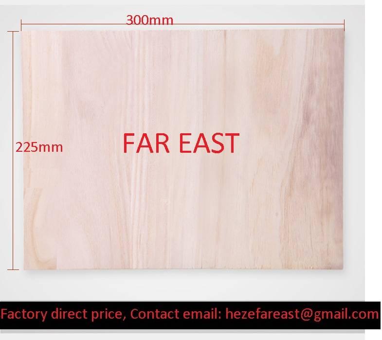 paulownia wood breaking board / taekwondo wood board