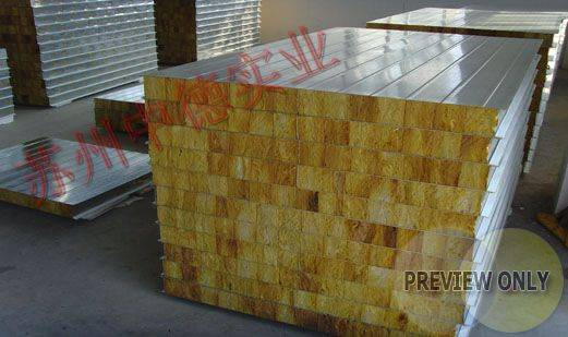 glasswool/ XPS sandwich panel