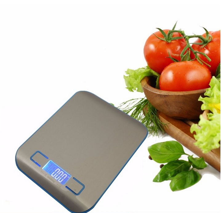 Sounon 5kg/11lb Stainless Steel Digital Multifunction Kitchen Scale