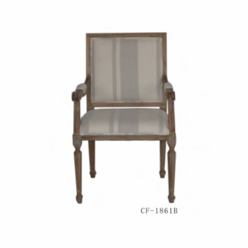 Wood Frame French Style Classical Furniture Chairs CF-1861b