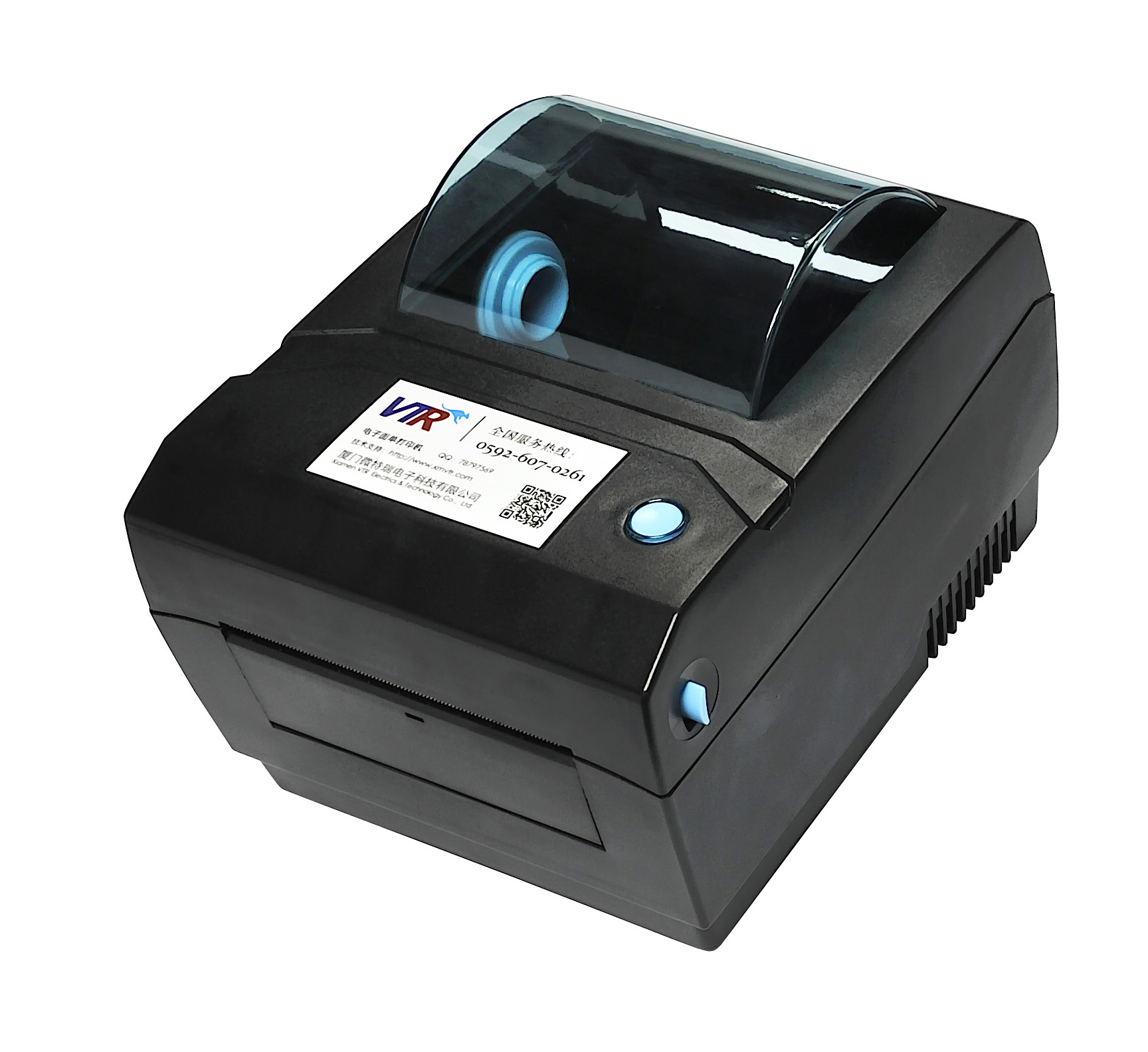 thermal receipt label printer with USB, express lable printing system