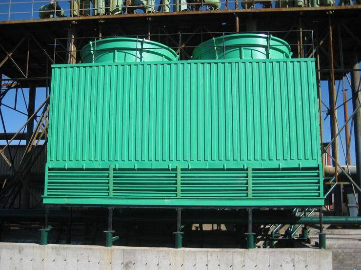 Industrial FRP Open Type Round / Square Water Cooling Tower