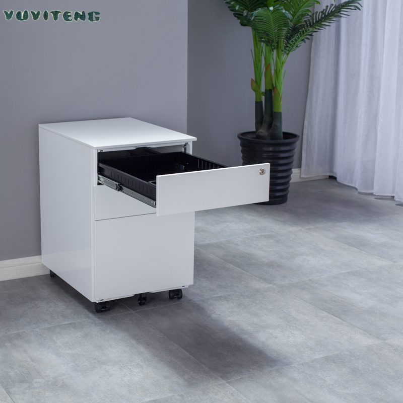 Metal 3 Drawer Office Pedestal Cabinet