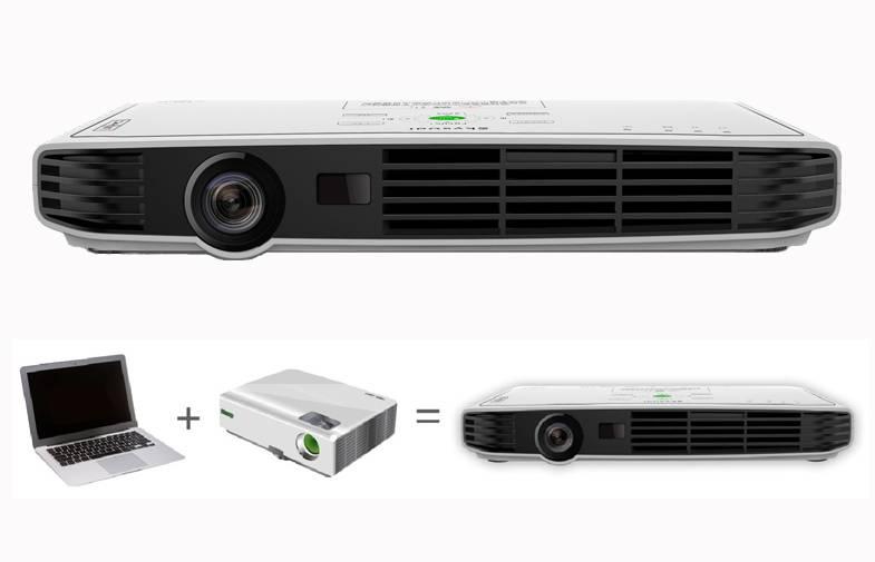 Led 3D Mini beamer DLP Video Projector 1080p Beamer With VGA HDMI Port