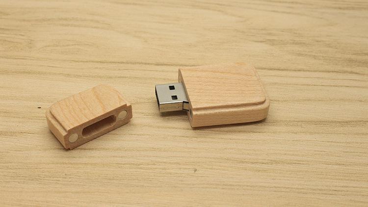 CaraUSB Arc Raised maple usb sticks flash memory 1GB cheap gifts custom logo