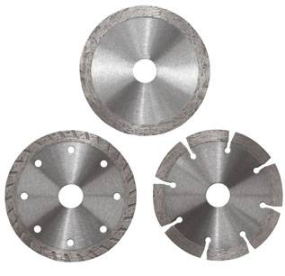 Saw Blade with Rim for Cutting Granite and Marble