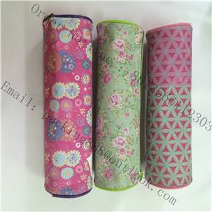 oxford cloth pen  bags ,zipper pencil bags, Cylinder  pen bags with logo