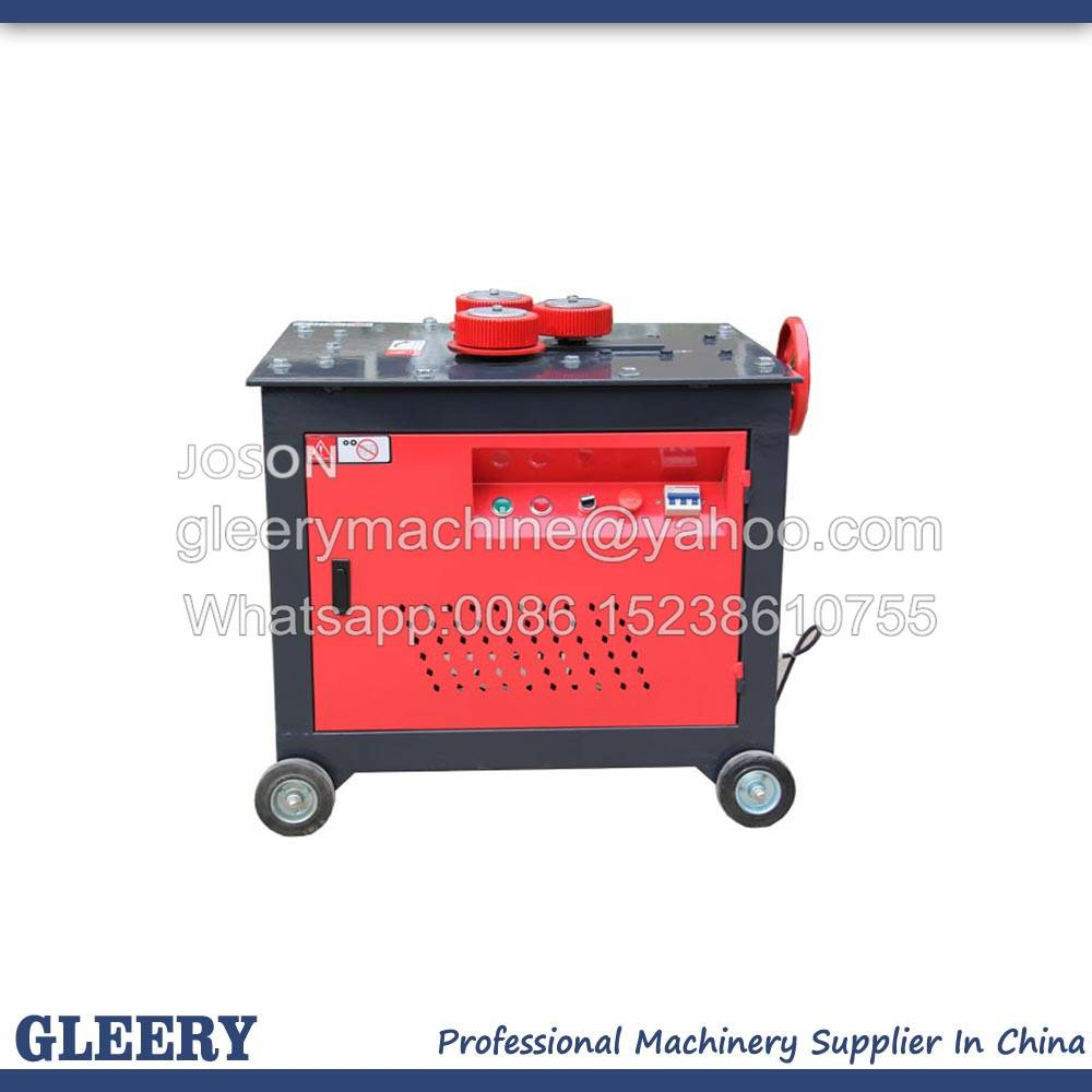 GWH-10/24/32/40 Rebar Spiral Bender/Steel Bar Curving Machine/Arc Rebar Bending Machine