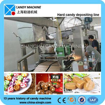 China made hard candy processing line