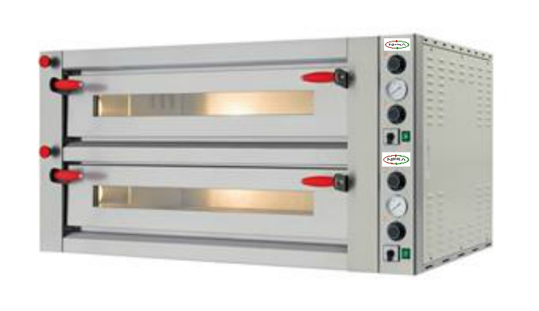TWIN DECK ELECTRIC PIZZA OVEN
