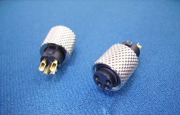 M8 4 PIN FEMALE WATERPROOF CONNECTOR , FOR CABLE