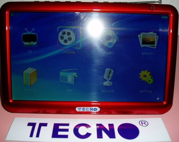 TECNO T190 Internet TV ,Mp3 Mp4 , HD Video movie Live TV