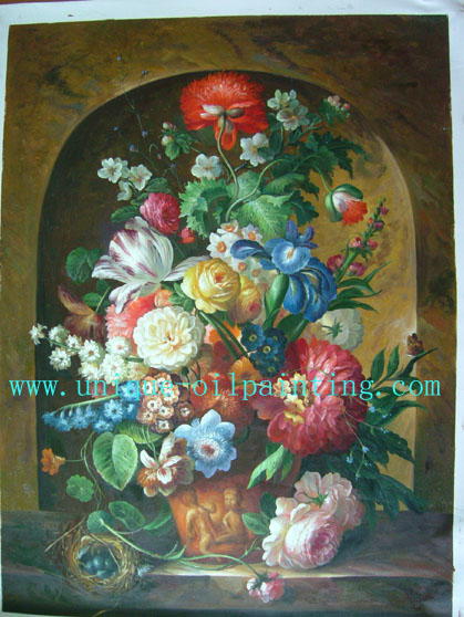 still life oil painting ( flower paintings)