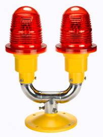Double Low-intensity Type A  Aviation Obstruction Light