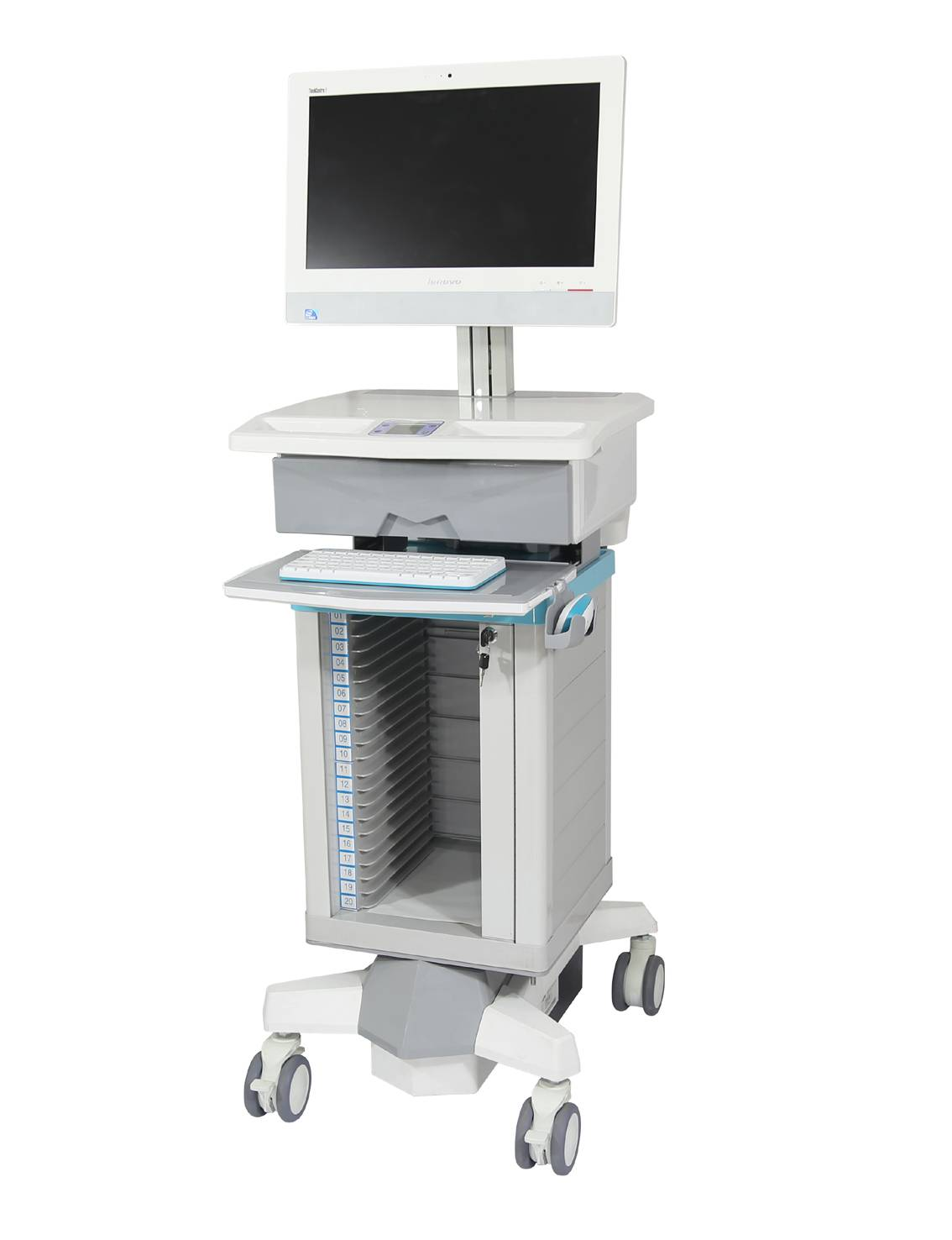 Dossier All-in-One PC Cart