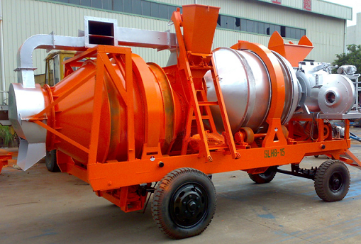 Double Drum Asphalt Mixing Plant