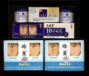 Jiaoli 10 days eliminating freckles AB set w/ 1 Jiaoli Soap (FREE SHIPPING)