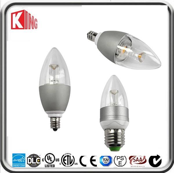3.5w DIM COB LED Candle Bulb