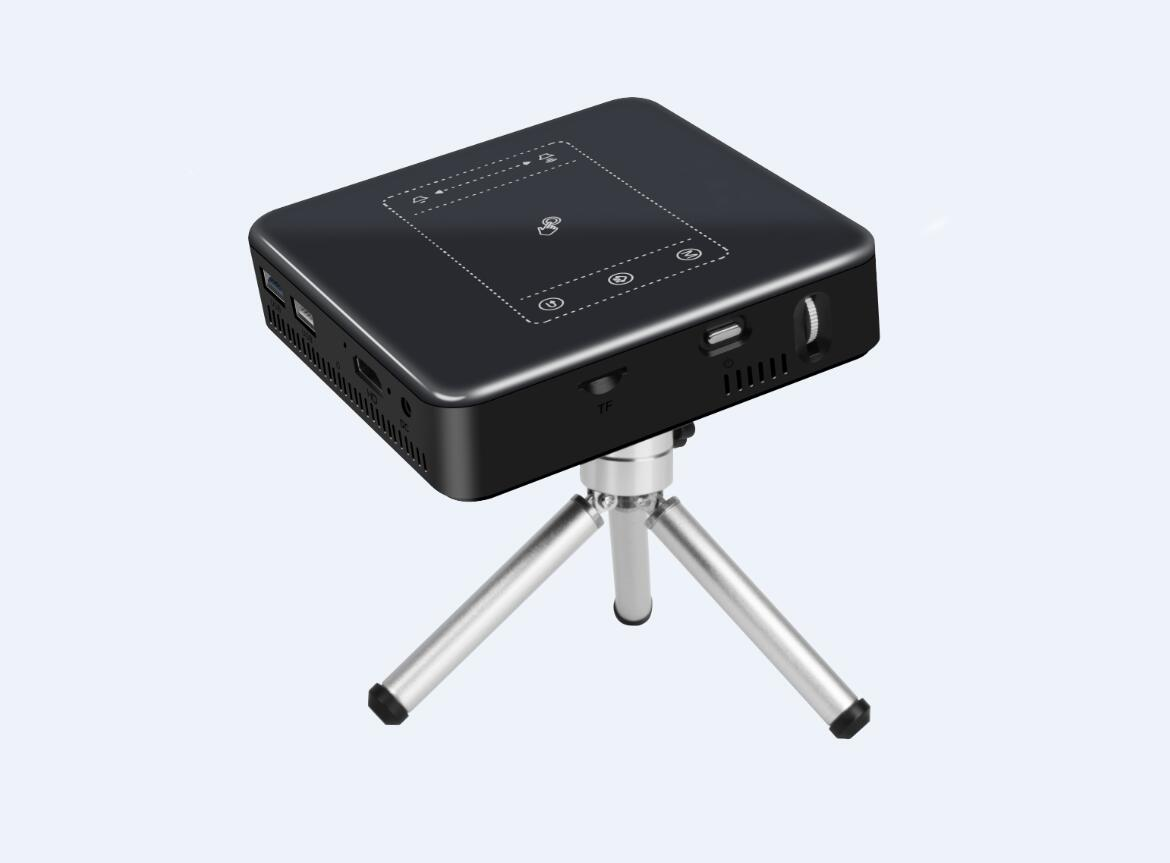3cbaba D13 Quadcore RK3328 2gb/16gb 150Lumen Android7.1 4K DLP Projector with WiFi, Bluetooth