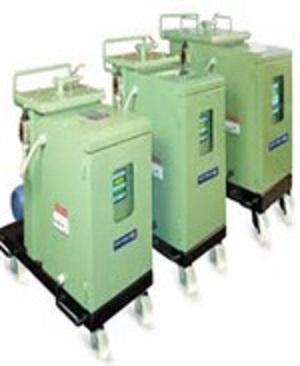 Power equipment powder coating