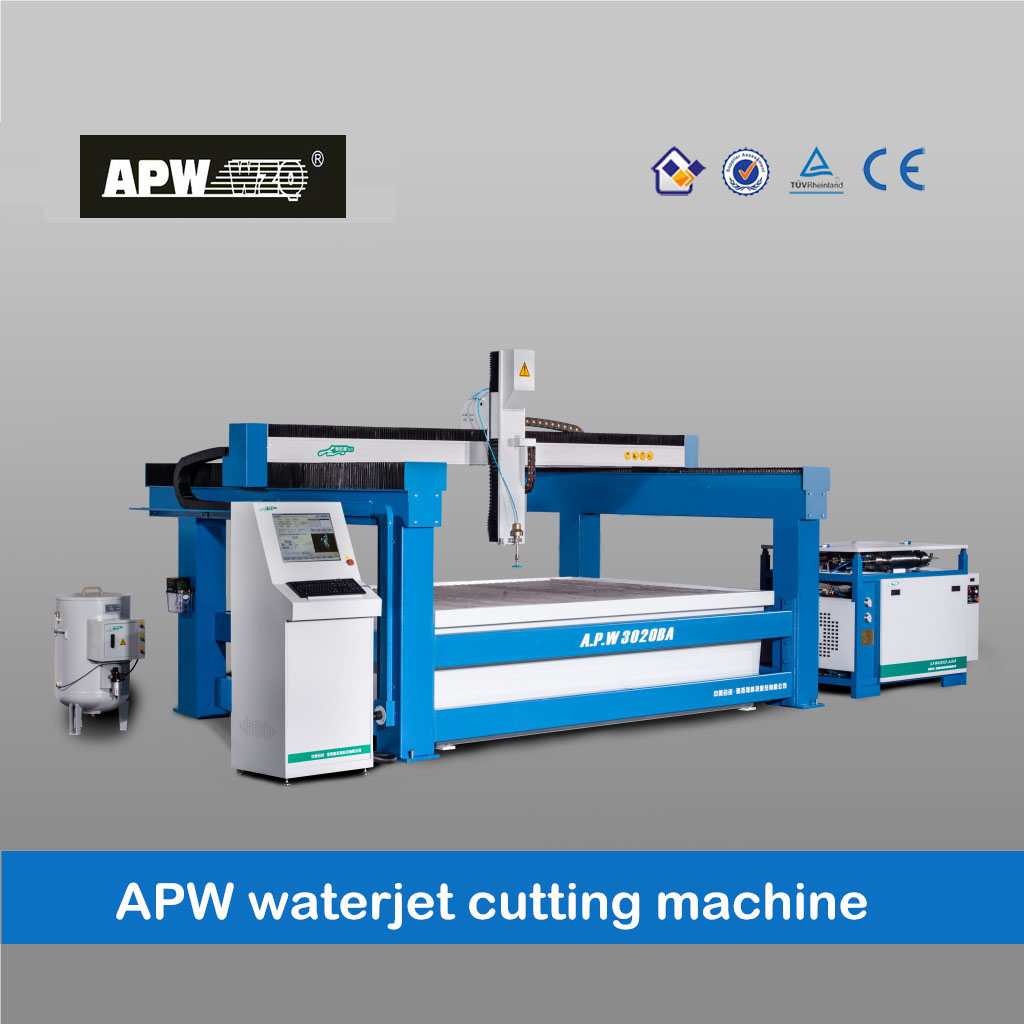 CE certificated cnc water cutting machine