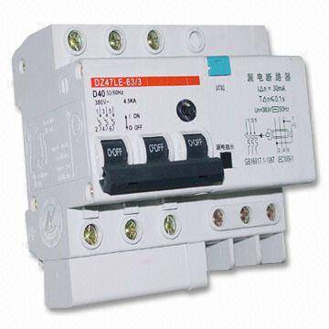 DZ47L(C45L)Earth Leakage Circuit Breaker