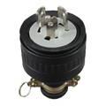 Non NEMA Locking Rubber Plug LK8320