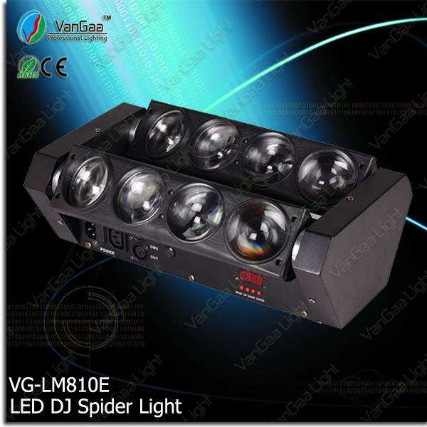 Stage lighting equipment guangzhou factory led spider light beam cabeza movil
