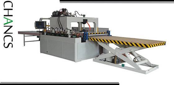 Elevator-platform Type High Frequency Edge Glued Panel Press ---CHANCS MACHINE