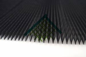 Polypropylene Plisse Fly Screen