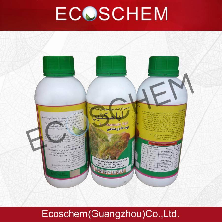 High effective pesticide Insecticide Abamectin 5.4% EC, 3.6% EC, 1.8% EC