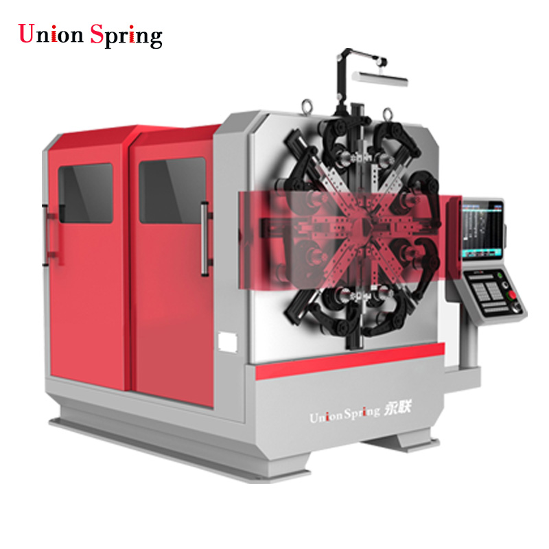 0.8-4.0mm Automatic Spring Forming Machine Wire Rotary Machine Wire Forming Machine