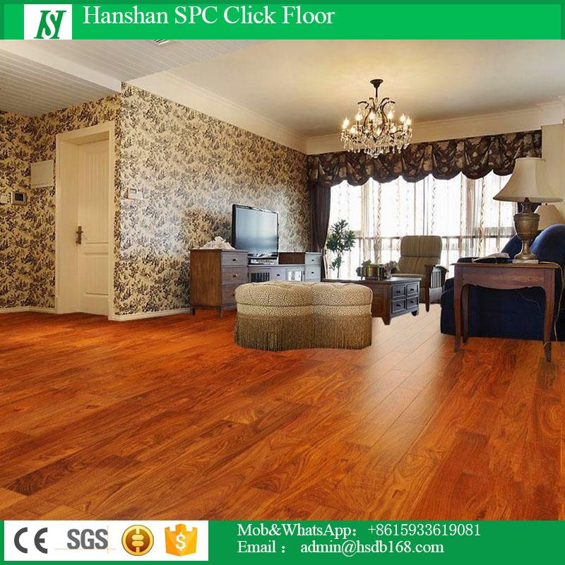 HanShan Indoor PVC Plastic Lock Floor