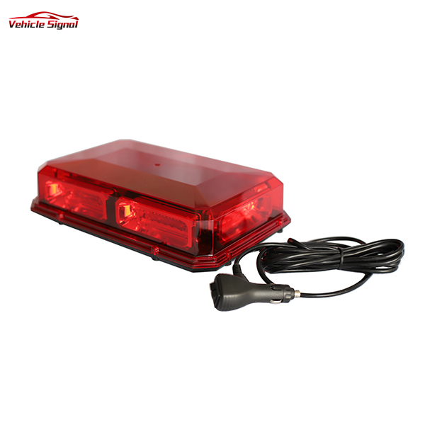 High quality Strobe Warning Mini Amber Led Lightbar Super bright Red Led Emergency vehicle Light bar