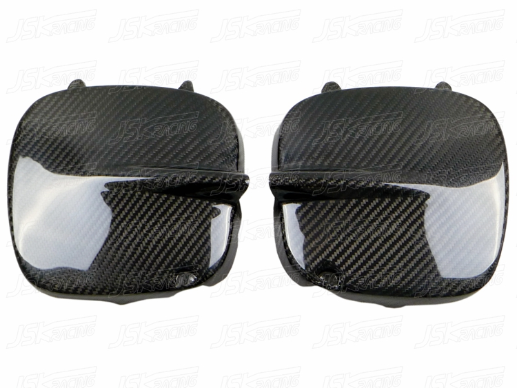 CARBON FIBER FOG LAMP COVER FOR 1997-2000 SUBARU IMPREZA 5-6