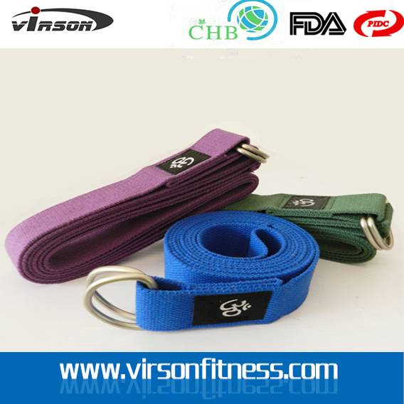 Cotton 3.8cm Yoga Woven Straps/Belts For Beginners