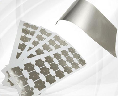 Manufactures Custom Die Cut Thin Aluminium Adhesive Foil Tape for Capacitor