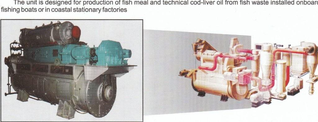 Technical cod-liver oil production unit