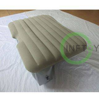 Family outdoor travel inflatable mattress on car