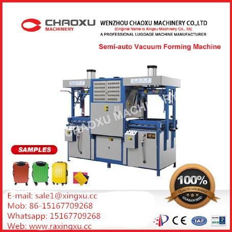 Semi-Automatic Plastic Vacuum Forming Blow Moulding Machine for Luggage