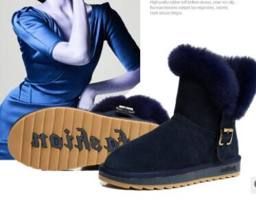 Wholesale Fashion shoes women snow boots high quality