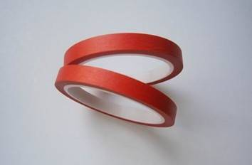 High temperature Red Masking tape