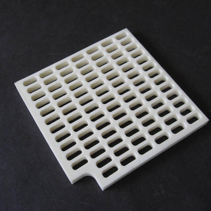 Alumina ceramic plate / sintering plate