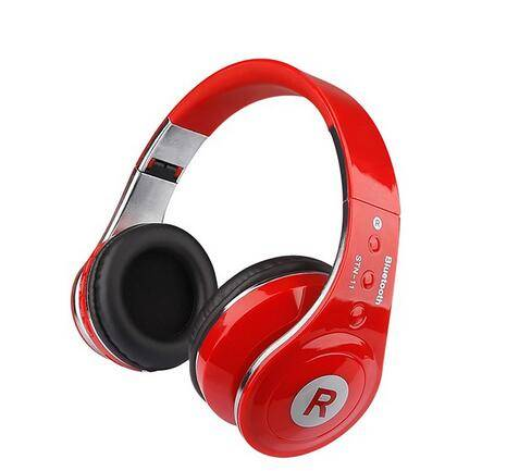 New Stereo Folding headphone Stereo Wireless Bluetooth Headphones With Microphone