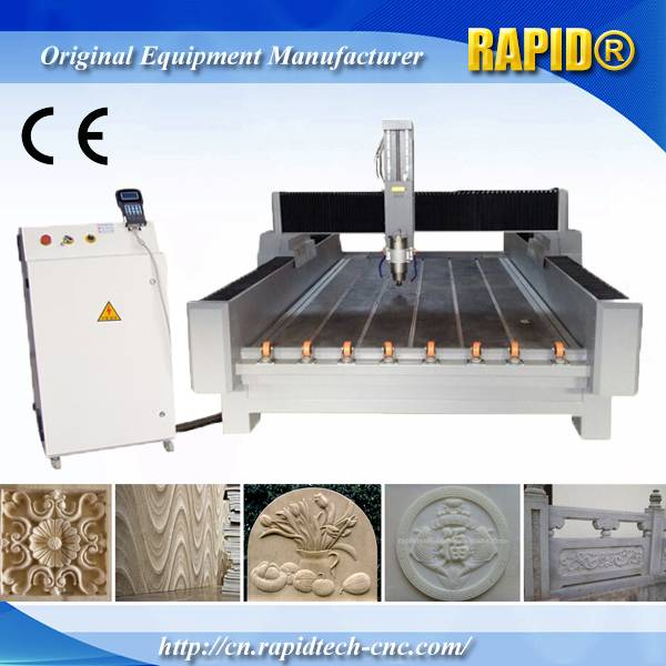RD-1224 Water Jet Granite Cutting Stone Carving CNC Machine