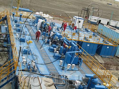KOSUN Drilling fluids solids control system